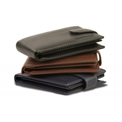 cSkórzany portfel z etui na...