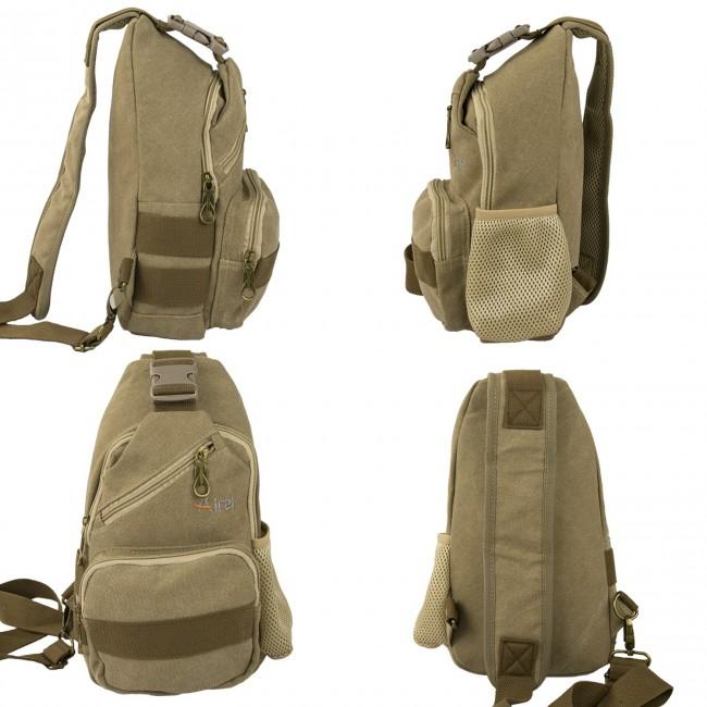 Bolsa de hombro táctica con multibolsillos 32x18x8cm