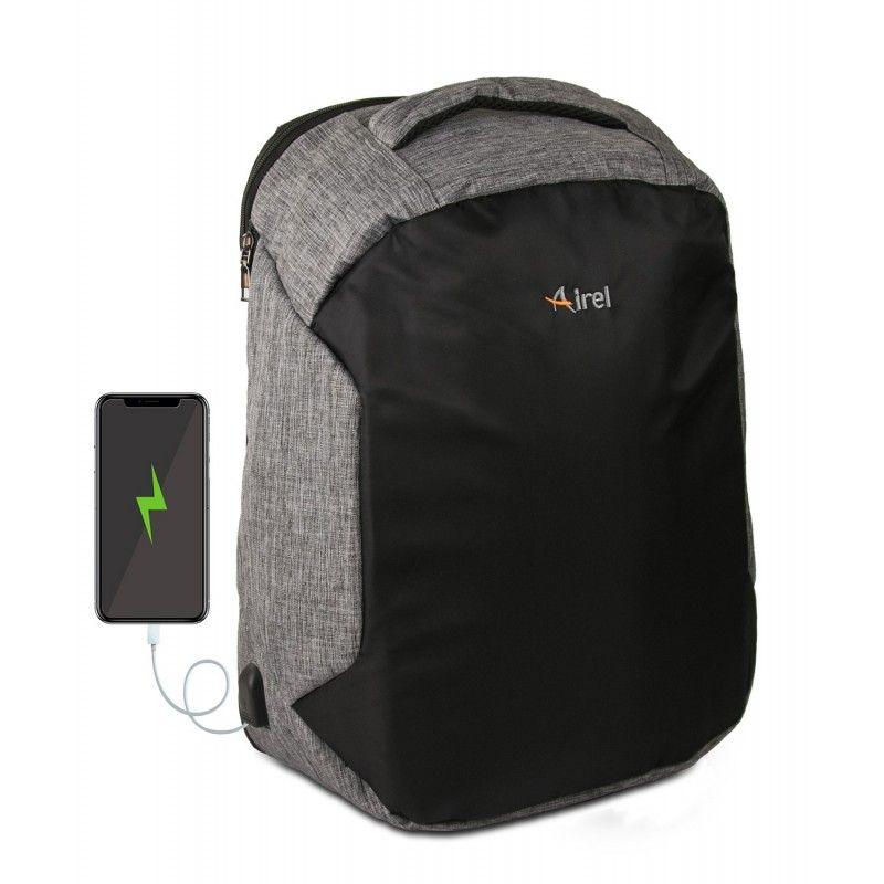 Mochila con cargador portátil para teléfono móvil 46x33x16 cm