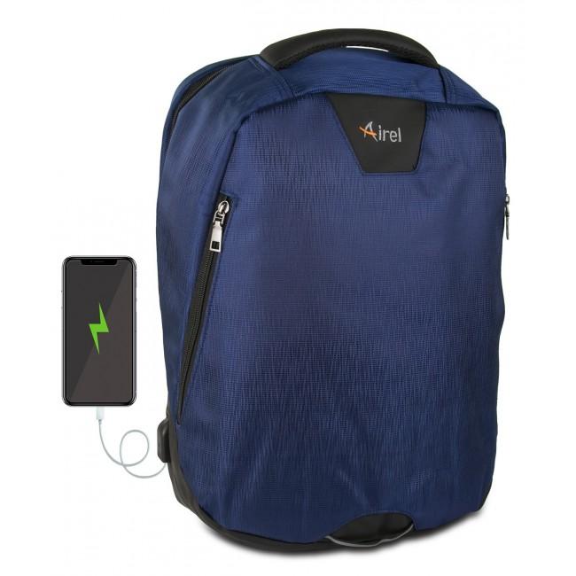 Mochila con cargador portátil para teléfono móvil 41x35x15 cm