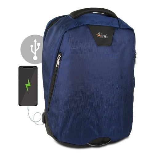 Backpack with portable...