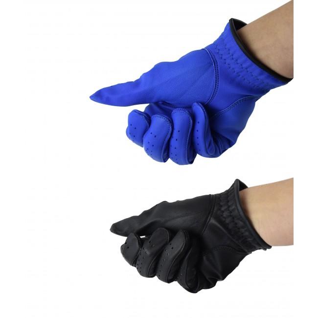 Pack de guantes de golf de piel diestros para caballero