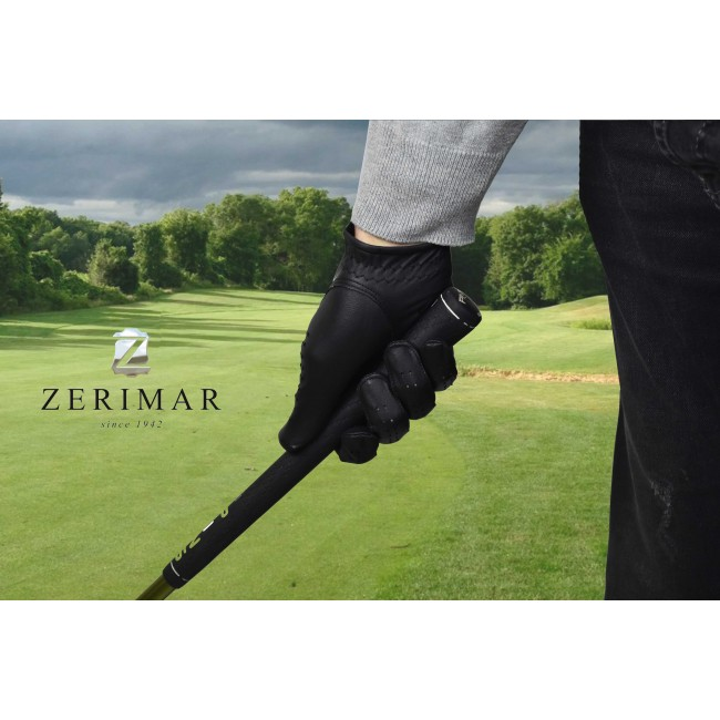 Pack of right-handed leather golf gloves for men