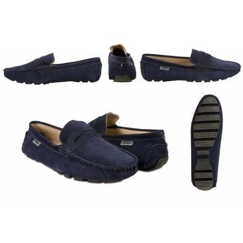 Comfort leather loafers...