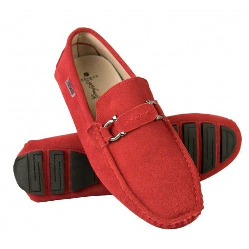 Loafers with front buckle...
