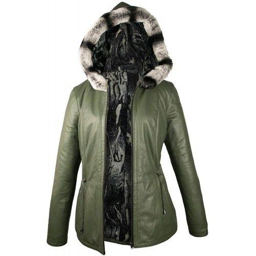 Reversible Leather Jacket...