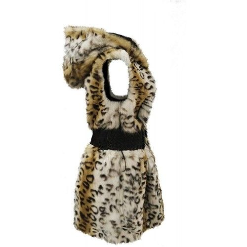 Rabbit Fur Waistcoat with...