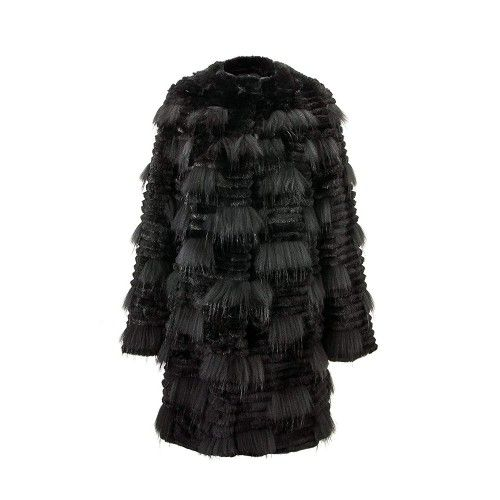 Leather Coat for Women,...