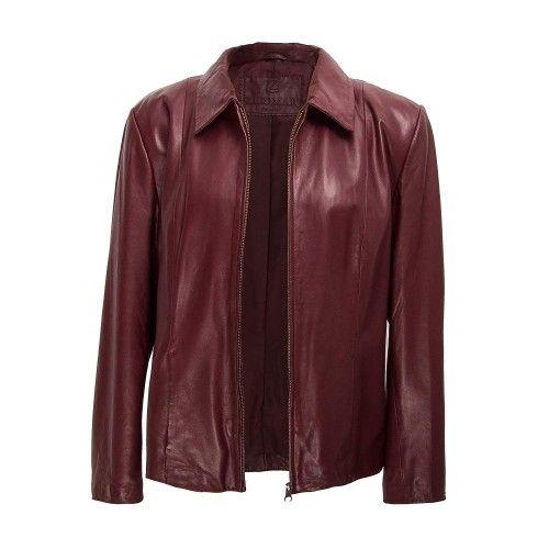 Leather Jacket Women,...