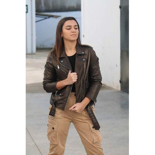 Leather Jacket Woman,...