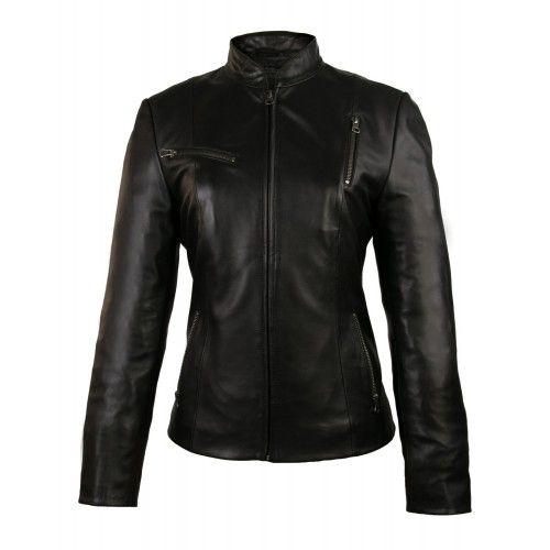 ELITE leather jacket with...