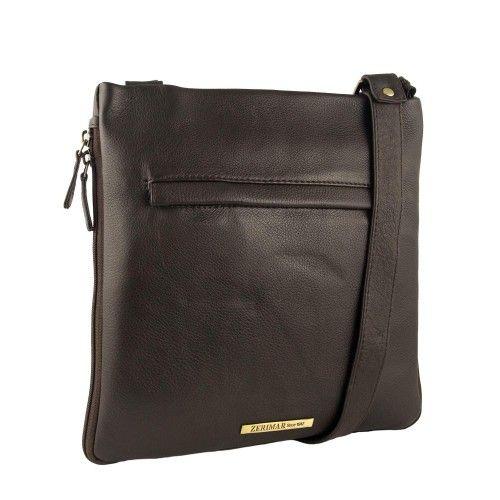 Praktische Lederhandtasche...