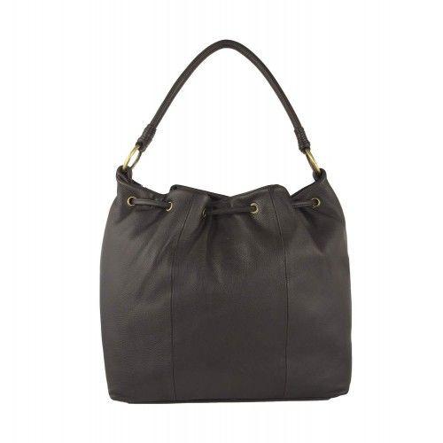 Leather Handbag, Leather...