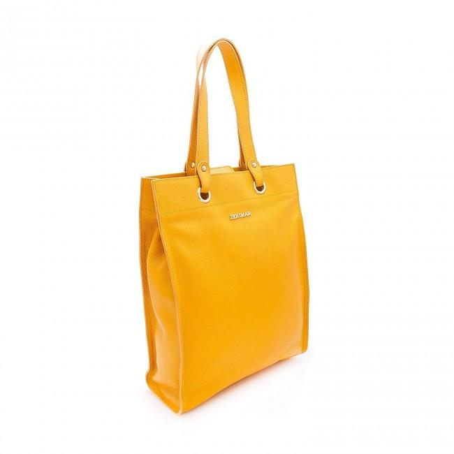 Bolso de piel de mujer natural Premium 38x30x10 cm