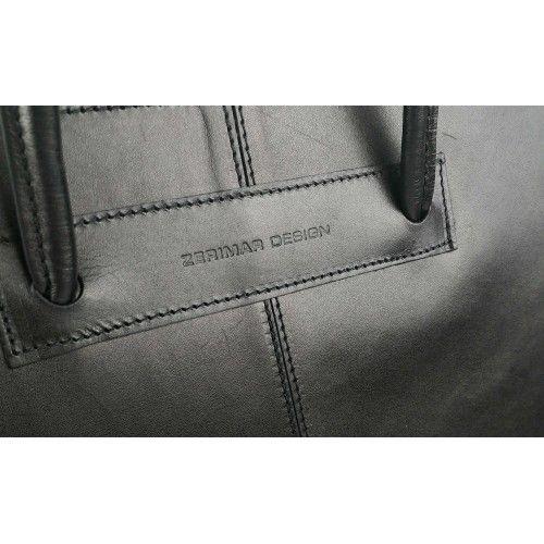 Shoulder bag-briefcase with...