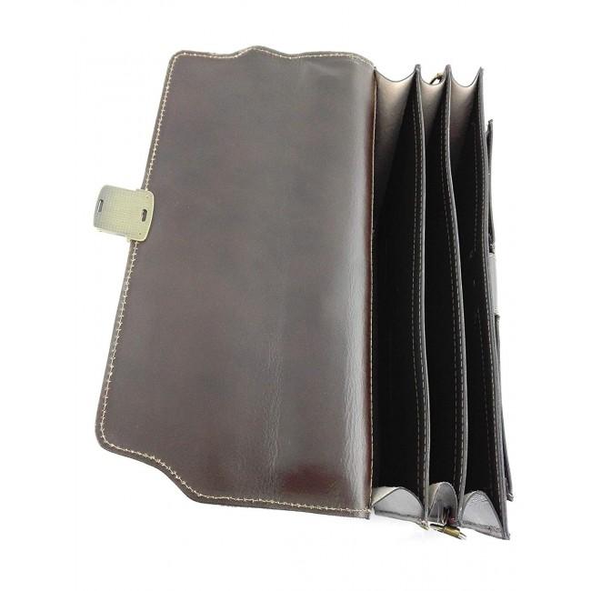 Bolso bandolera vintage de cuero 40x30x15 cm