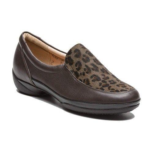 Zapatos planos de piel para...