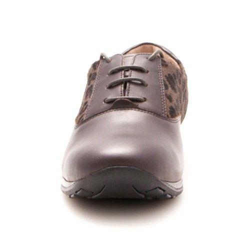 Zapatos planos de piel