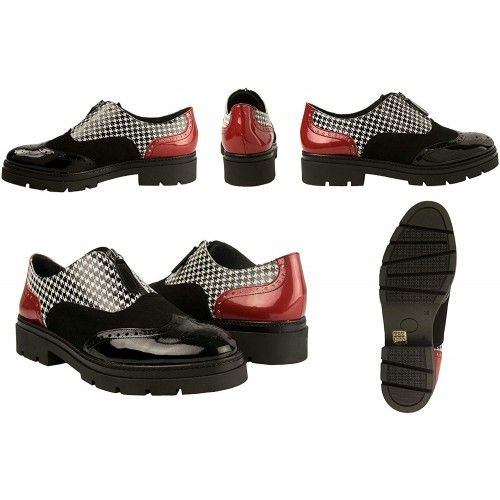 Scarpe oxford in pelle...