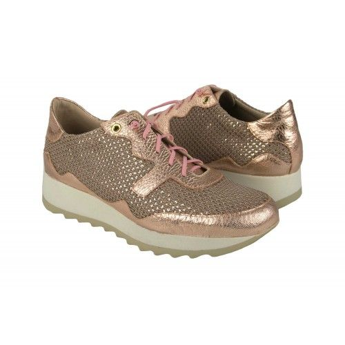 Metallic sneakers with...