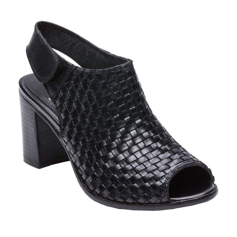 Leather Sandals Boots for Women, Summer Ankle Boots for Women 8