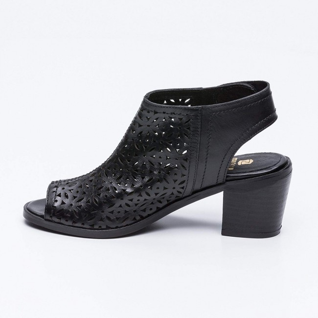 Leather Sandals Boots for Women, Summer Ankle Boots for Women 5