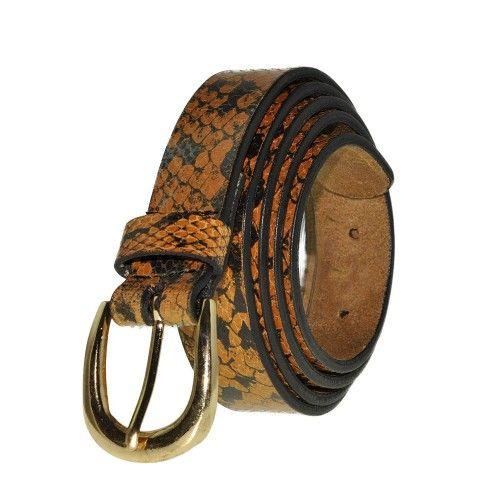 Cinturon de piel de vaca...