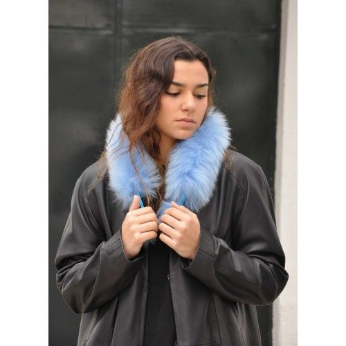 Fur Scarf for Women, Winter...