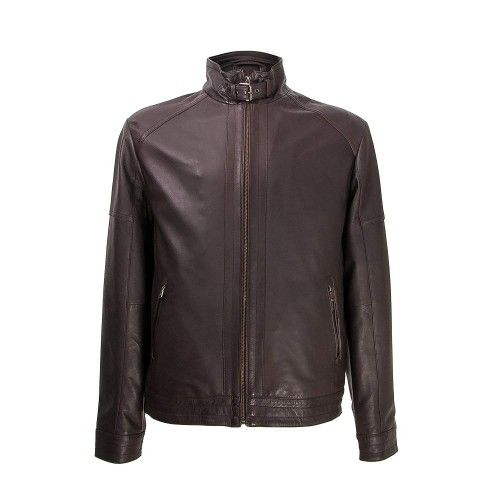 Jacket with zipper and...
