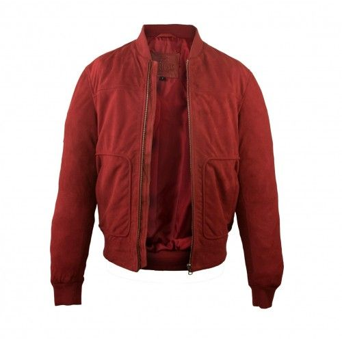Suede jacket with pockets...