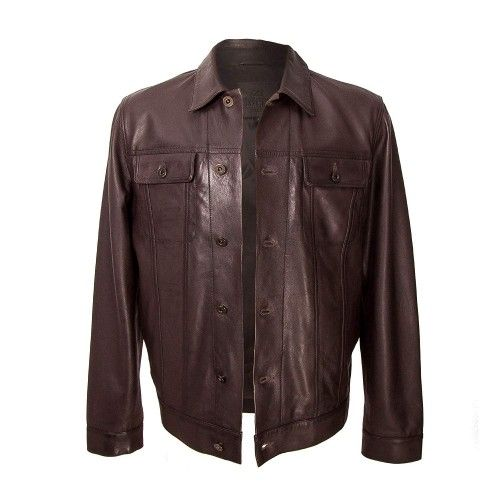 Vintage style leather...