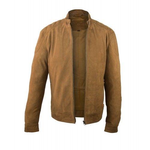 Men's Suede Zip Jacket