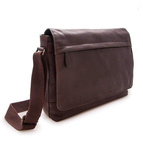 Skórzana torba na ramię...