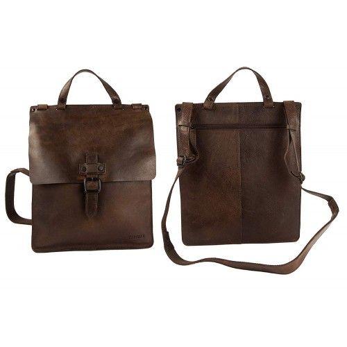 Leather Messenger Bag,...