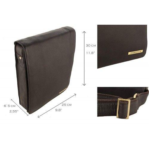 Leather Shoulder Bag,...