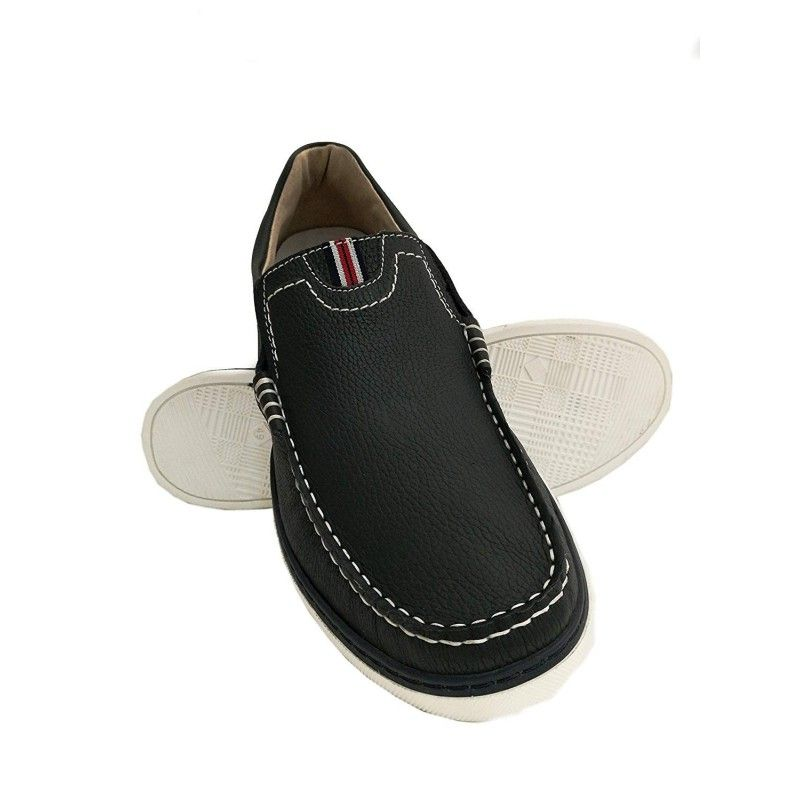 Leather Boat Shoes for Men, Big Sizes, Leather Loafers Men