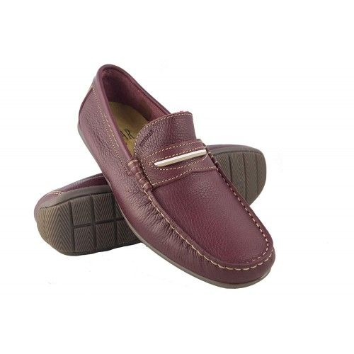 Leather Boat Shoes for Men,...