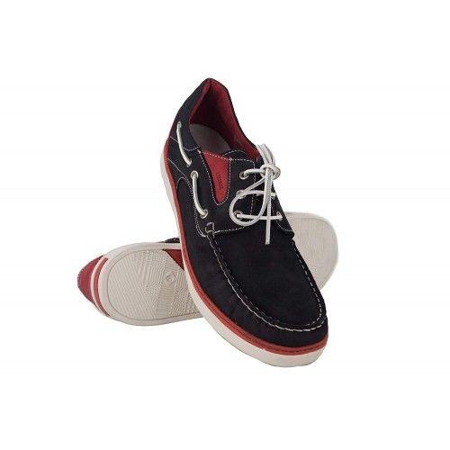 Zapatos nauticos de piel de...