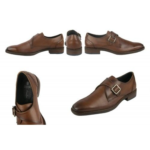 Leather classic shoes with...