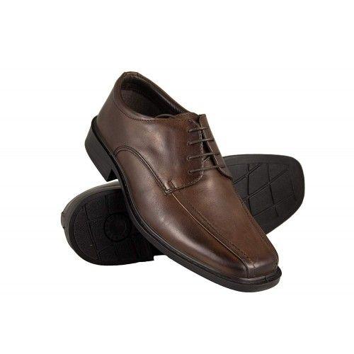 Męskie skórzane buty,...