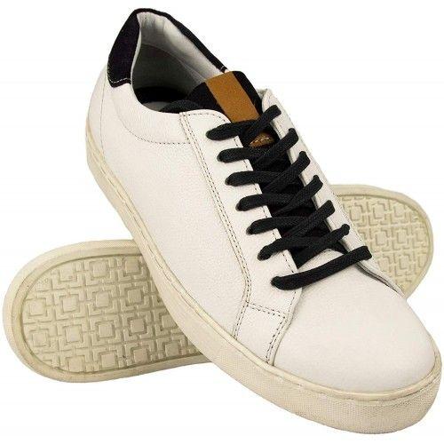 Leder Schuhe Herren Sneaker...