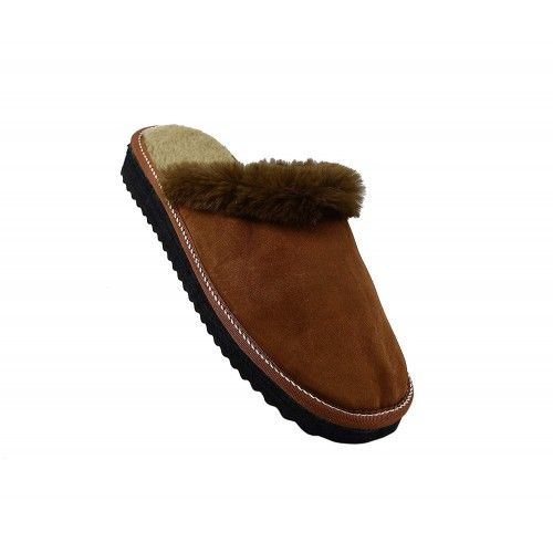 Brown slippers by...