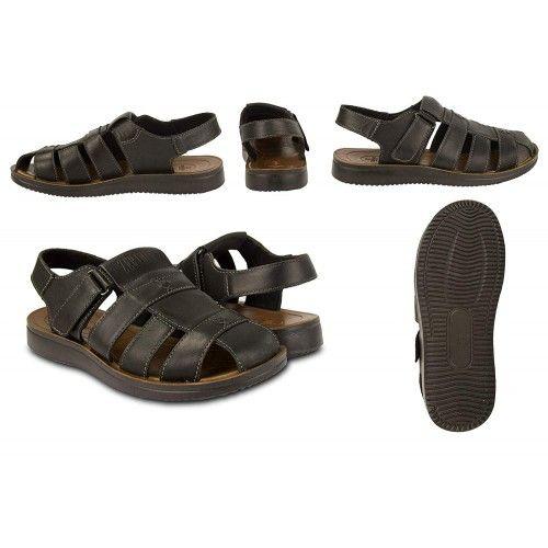 Leder sandalen für...