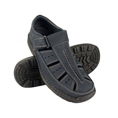 Sandalias de hombre de piel...