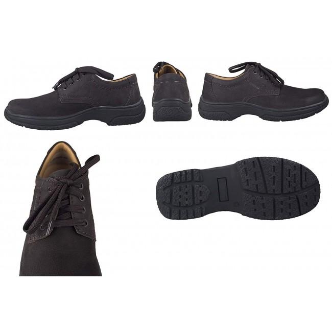 Zapatos de piel de hombre para hosteleria color marron