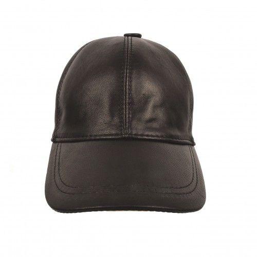 Gorra de cuero de invierno