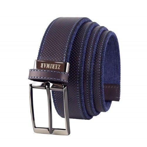 Cinturon de piel natural de...