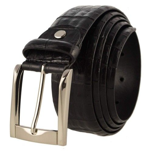 Cinturon de piel con...