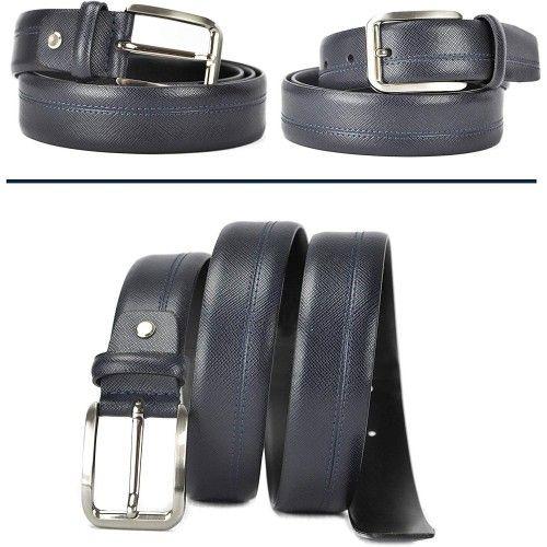 Cinturón de piel estilo...