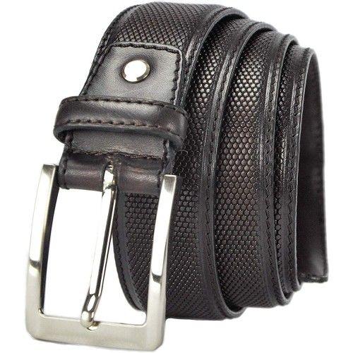 Cinturón de piel 4 cm de...